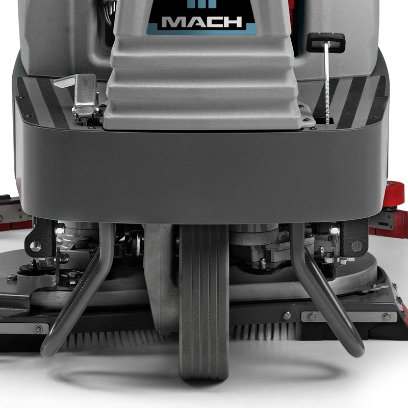 M850 RIDE ON SCRUBBER FAST AND SAFE