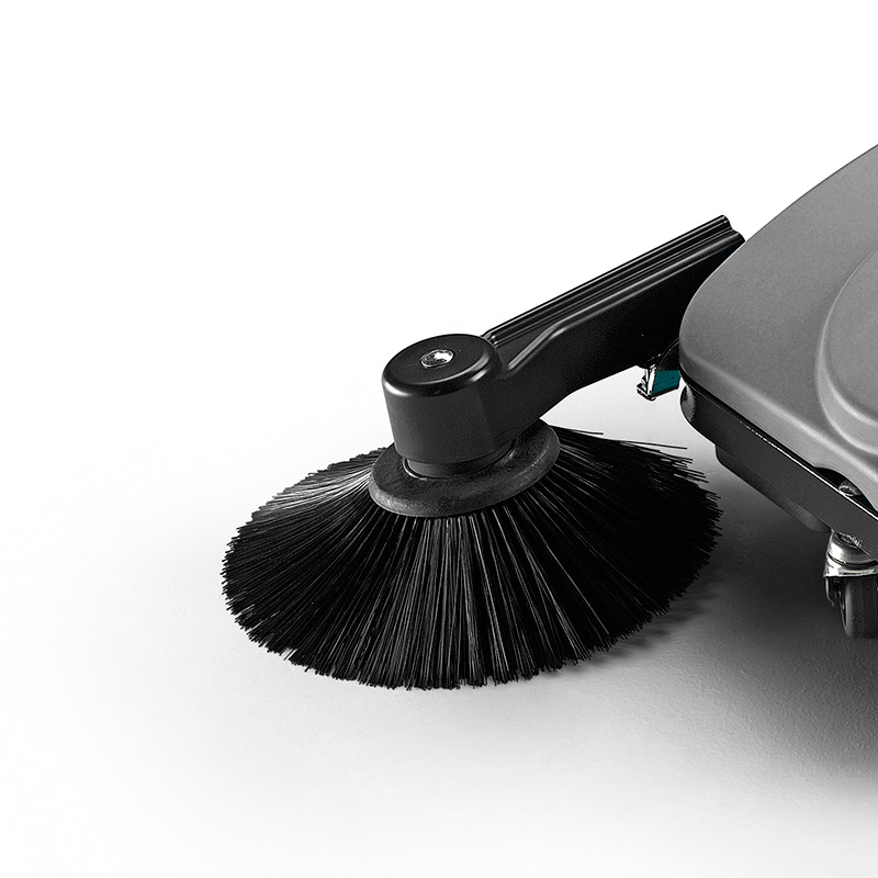 MACH MEP IMPACT RESISTANT SIDE BRUSH PROVIDES EXTENDED REACH