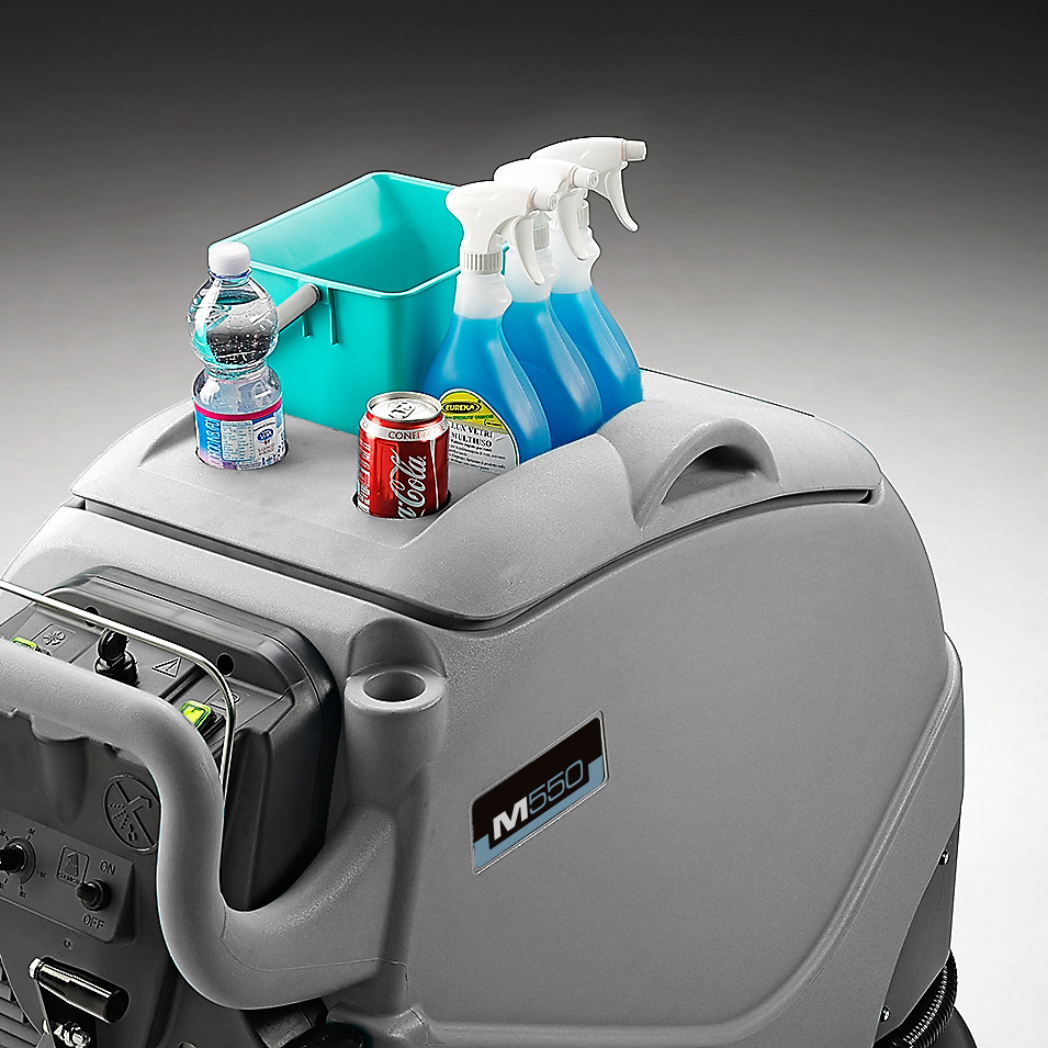 MACH M550 WALK BEHIND SCRUBBER DESIGNED FOR THE OPERATOR