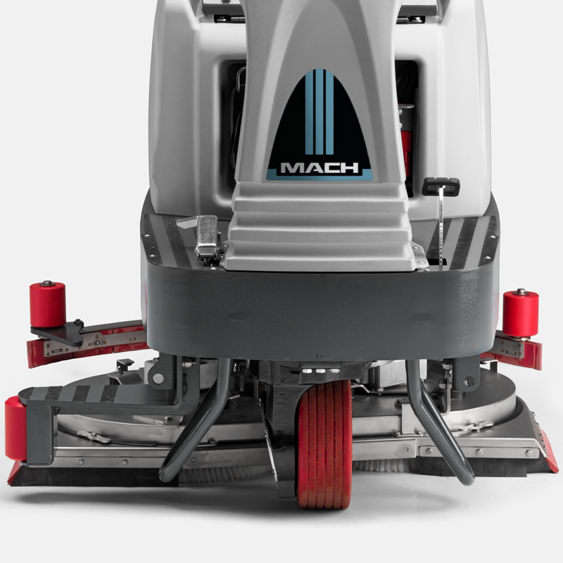MACH M1000 WIDE CLEANING PATH DELIVERS INCOMPARABLE PRODUCTIVITY