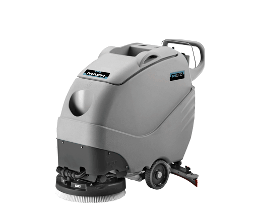 M Mach Sweepers - Small industrial floor cleaning machines