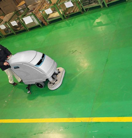 M610 WALK BEHIND SCRUBBER DELIVERS BRILLIANT RESULTS FAST