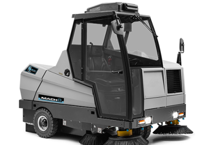 MACH 8   industrial sweeper